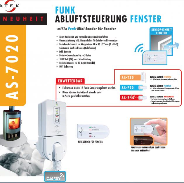 Funk Abluftsteuerung AS-7020